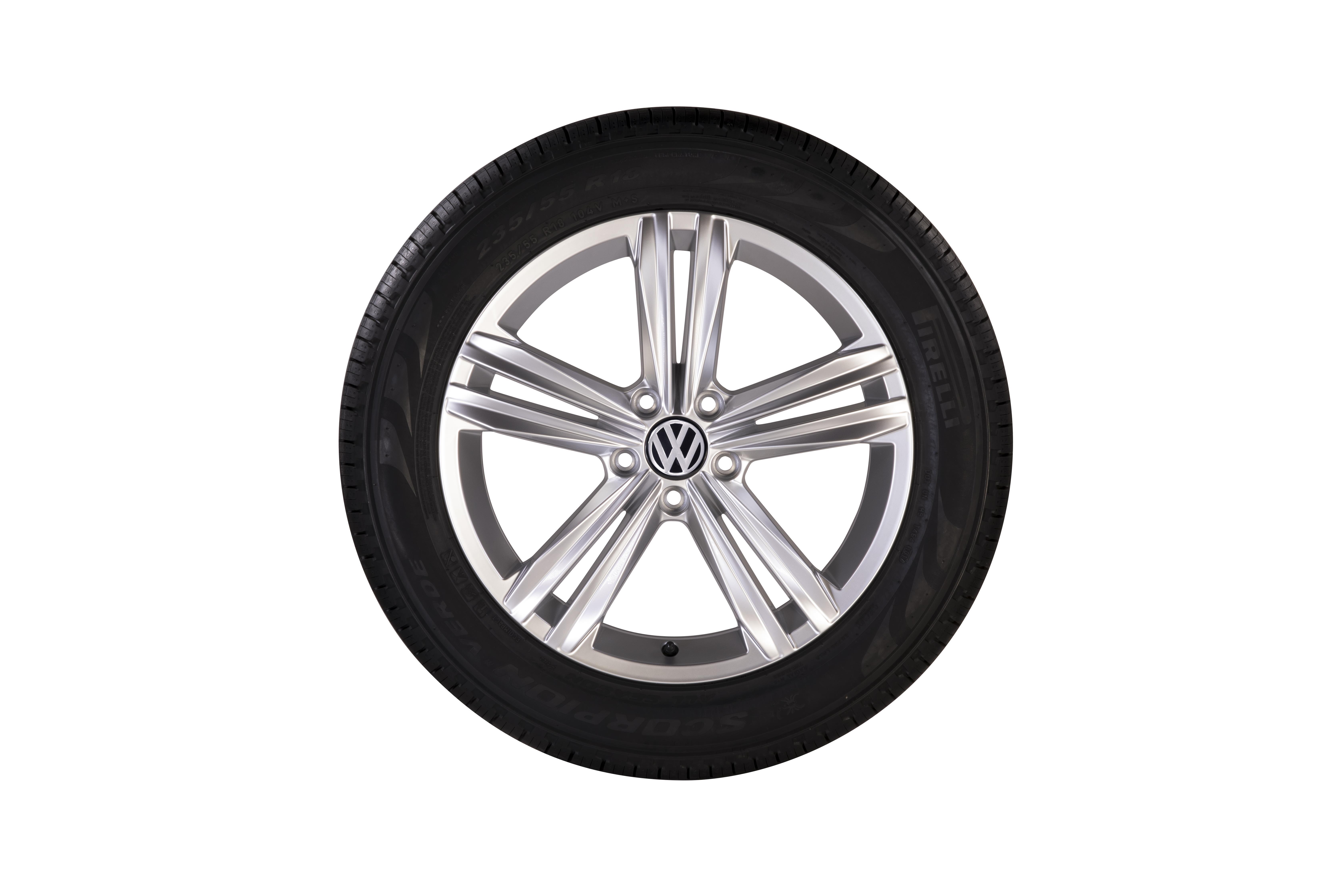 2018 volkswagen tiguan roues trenton de 18 po gris galvanis m tallis pneu chaque. Black Bedroom Furniture Sets. Home Design Ideas